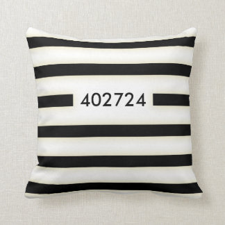 convict stained uniform cushion