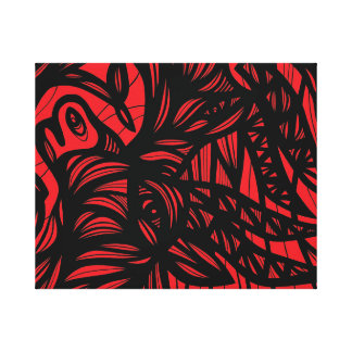 Convivial Aptitude Hearty Heavenly Stretched Canvas Print