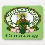 Conway Clan Motto Mouse Pad