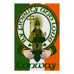 Conway Clan Motto Poster Print