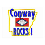 Conway Rocks ! (blue) Post Cards