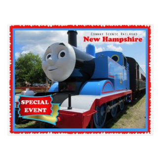 Conway Scenic Railroad Event Postcard