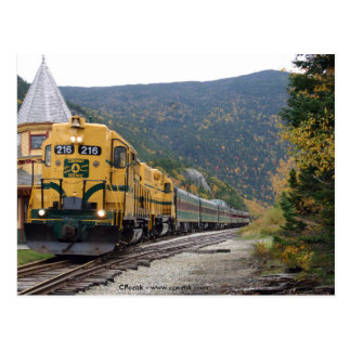 Conway Scenic Railroad, NH Postcard