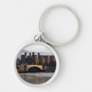Conwy castle key chain