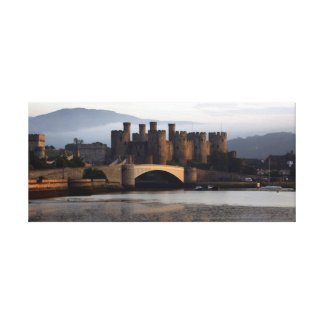 Conwy Castle North Wales Canvas Print