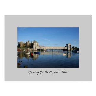 Conwy Castle North Wales Postcard