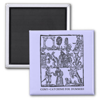 Cony-catchin' up (magnet) square magnet