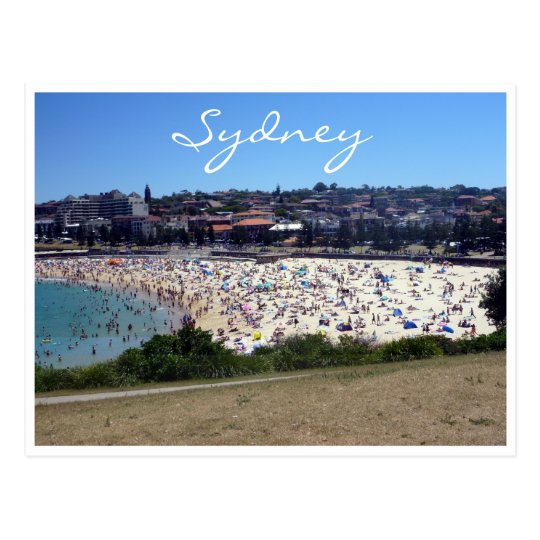 coogee beach sydney postcard