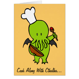 Cook Along With Cthulhu Card