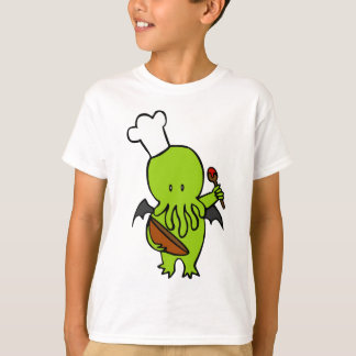 Cook Along With Cthulhu T-Shirt