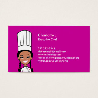 Cook Business Card - African Version