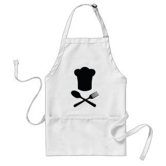 cook chef hat restaurant cooking aprons