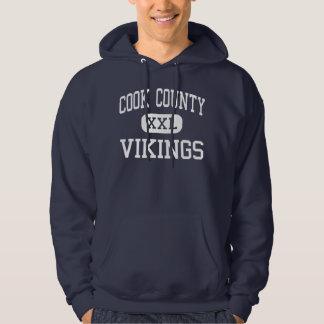 Cook County - Vikings - High - Grand Marais Hoodie
