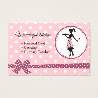 cook, Handmade cakes, kitchen Business Card