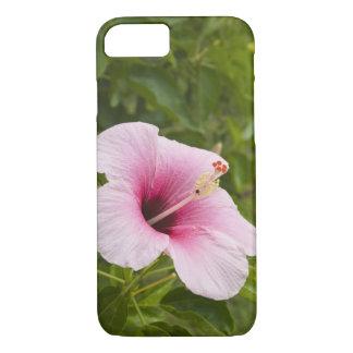 Cook Islands, Atiu. Hibiscus flower. iPhone 8/7 Case
