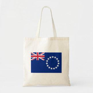 Cook Islands Flag Budget Tote Bag