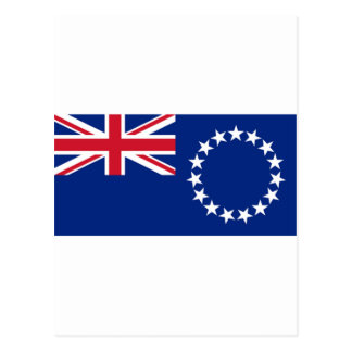 Cook Islands Flag CK Postcard
