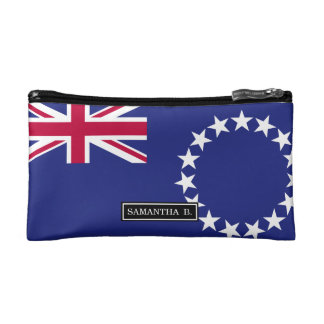 Cook Islands flag Makeup Bag