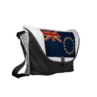 Cook Islands Flag Messenger Bags