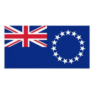 Cook Islands Flag Art Photo