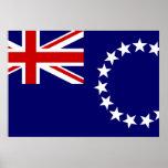 Cook Islands Flag Poster