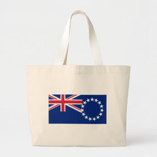 Cook Islands Flag Jumbo Tote Bag