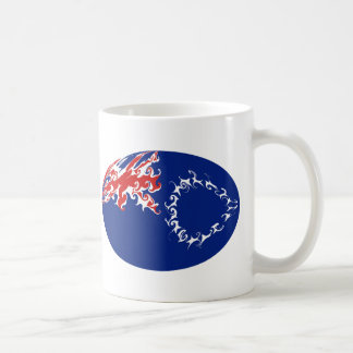 Cook Islands Gnarly Flag Mug