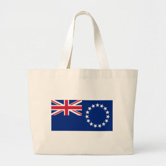 cook islands large tote bag