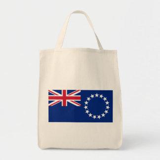 cook islands grocery tote bag