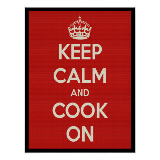 Cook On Poster