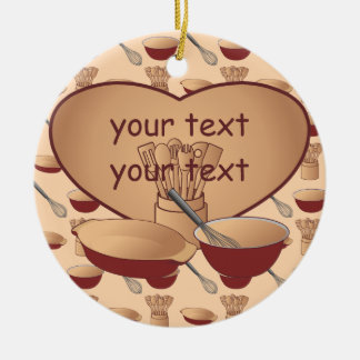 Cook or Chef Personalized Christmas Ornament