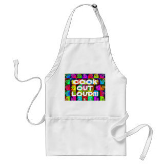 Cook Out Loud Aprons