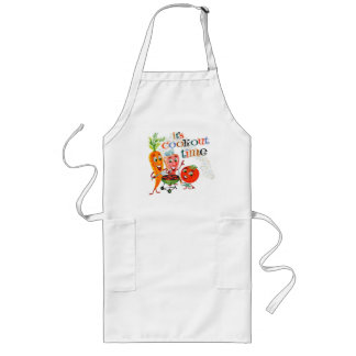 Cook Out Time! Long Apron