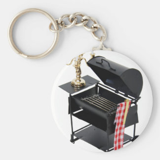 CookCandelight031309 Basic Round Button Key Ring