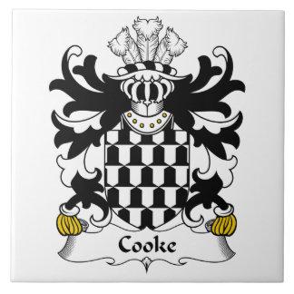 Cooke Family Crest Ceramic Tiles
