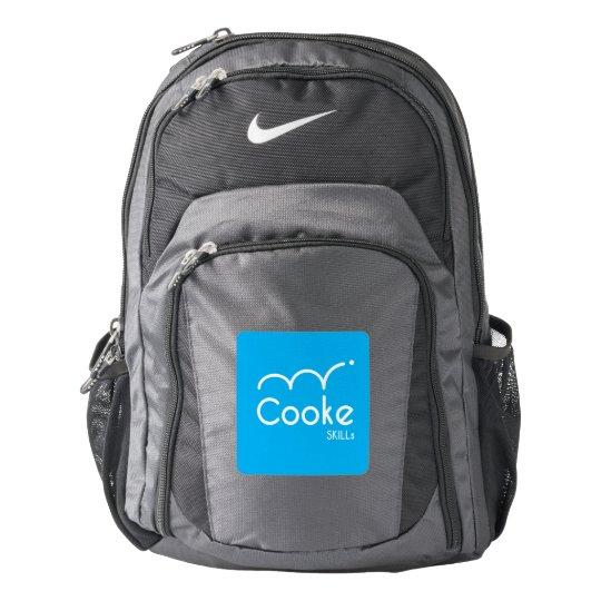 Cooke SKILLs Nike Backpack, Black/Grey Backpack
