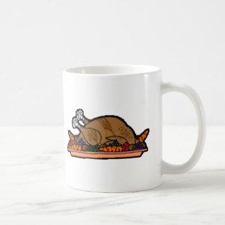 cooked turkey coffee mugs