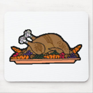 cooked turkey mouse pads