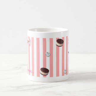 < Cookie × ribbon >zu paste ru ri Coffee Mug
