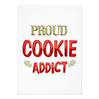 Cookie Addict Invitations