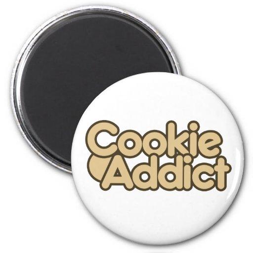 Cookie Addict Refrigerator Magnets