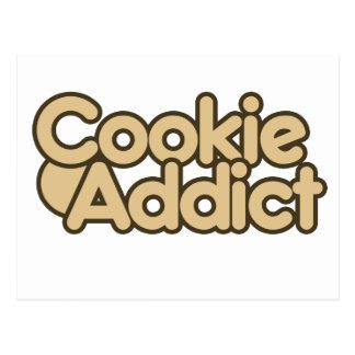 Cookie Addict Postcard