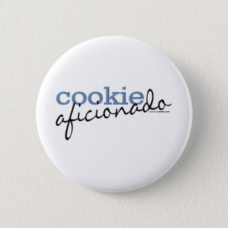Cookie Aficionado 6 Cm Round Badge