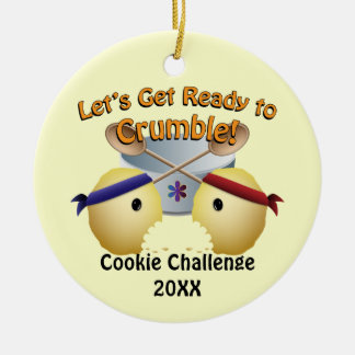 Cookie Baking Competition Christmas Ornament