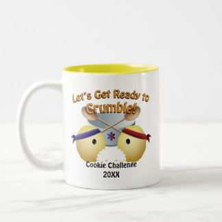 Cookie Baking Competition Two-Tone Mug