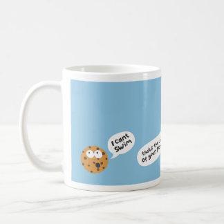 cookie basic white mug