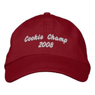 Cookie Champ 2008 Baseball Cap