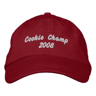 Cookie Champ 2008 Embroidered Hat