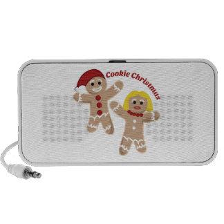 Cookie Christmas Travel Speaker