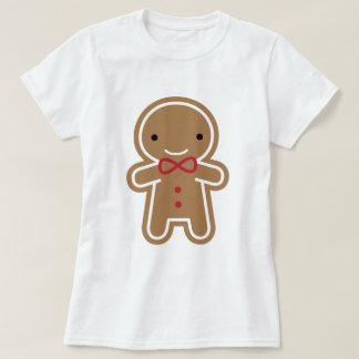 Cookie Cute Kawaii Gingerbread Man Tshirt